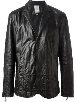 John Varvatos  - Raised Check Blazer