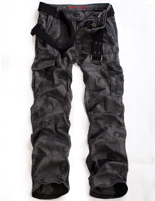 Anthony Mackie Match Men's Camo Military Cargo Pants ...
